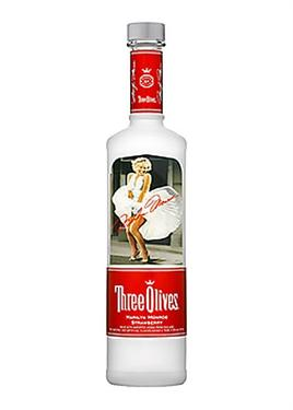 Three Olives Vodka Marilyn Monroe Strawberry